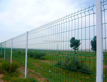 Green triangle bending fence Curve fence/ triangle bending nce/welded wire mesh fewire mesh