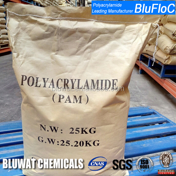 Textile, Paper, Mining and Drilling Flocculant Anionic Polyacrylamide Polymer