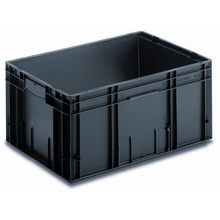 In stock esd pcb storage box/antistatic container