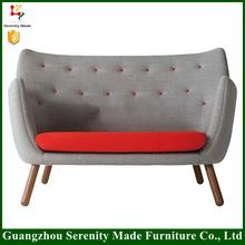 China wholesale simple wooden sofa set design Living room Furniture