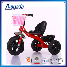 Hot sale plastic tricycle kids bike / kids riding tricycle for sale / three wheeler for kids from China supplier