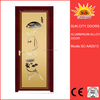SC-AAD013 Sliding aluminum alloy door with mirror glass