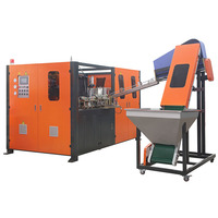 Semi-Automatic Pet / Plastic Blowing Bottle Machine / Making Line