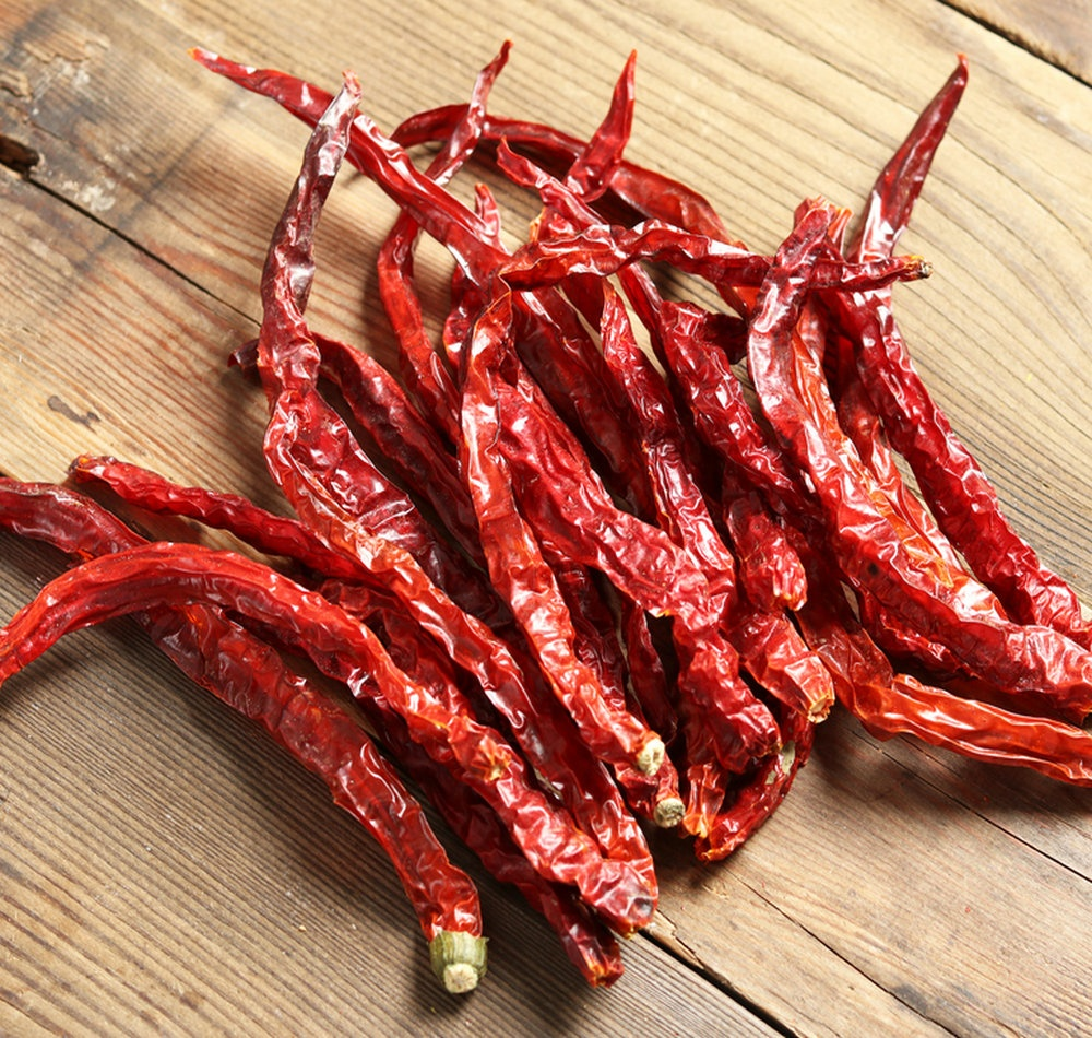 Dry red chilli/pepper export processing
