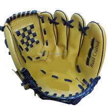 Hot sales 10 inch PVC leather baseball glove for baseball game and training