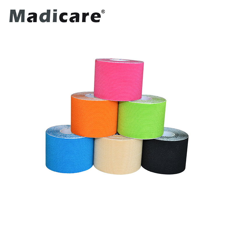 Pre Cut 5Cm 5M Premium Synthetic Kinesiology Tape Kinesiologie Tape