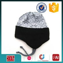 HOT SALE Newest Fashion! simple design knit hat & cap with free knitted pattern China wholesale