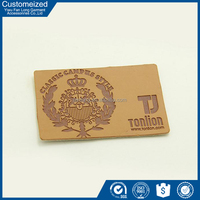 OEM Size And Logo Leather Labels For Handbags Wholesale