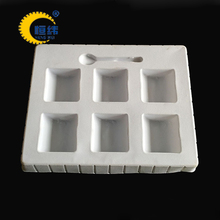 high quality customize blister flocking tray for nourishment