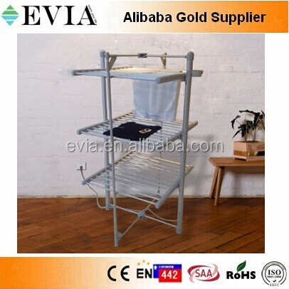 3 tiers Folding style Electric heated clothes dryer warmer