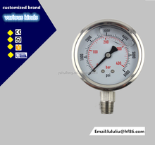 New arrival excellent quality industrial bourdon tube pressure gauge