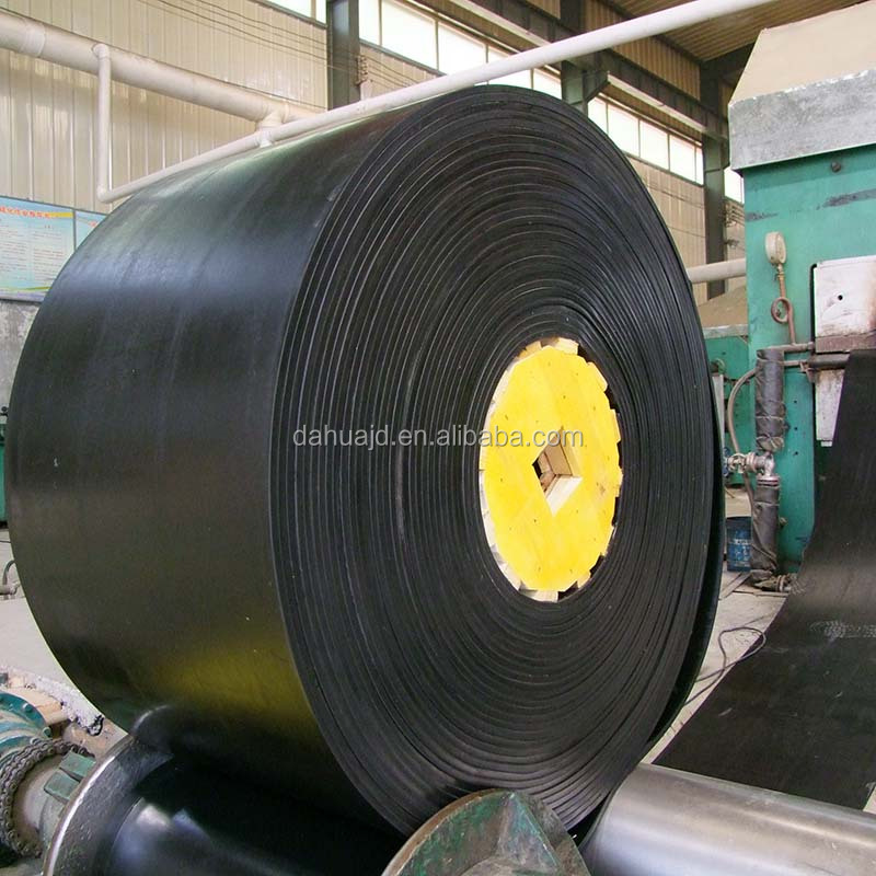 High temperature resistant rubber conveyor belt with China manufacture