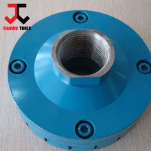 "4"" Diamond Grinding Disk with Magnetic Suction 36#\60# Rigid Tornado Wheels"