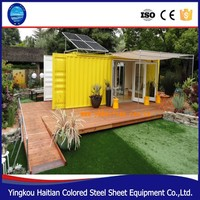 Prefabricated house in algeria,modern container house made in China