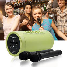 portable speaker with wireless microphone portable pa system sound amplifier