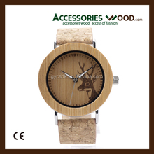 Newest design wooden wristwatch,Custom wood watches from China Factory