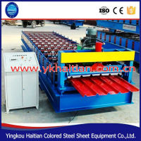 Automation Construction Roof Machine/roof forming equipment/roof tile gutter machine
