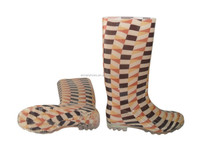 Fashion style Transparent PVC rain boots,Ladies' rain shoes