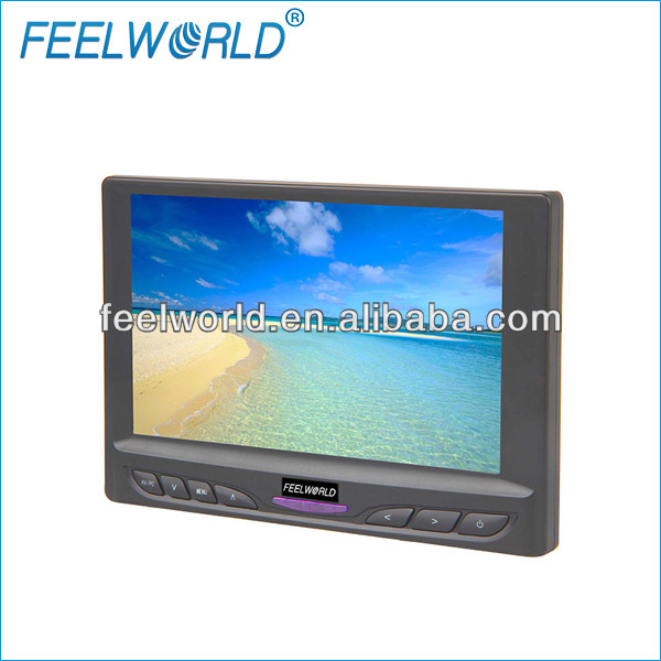 7 Inch Audio Video Small monitor for DVD Player , FW629AH