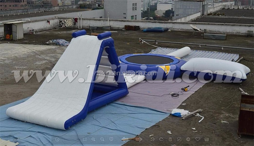 BIKIDI giant inflatable water park/inflatable water amusement park D3005
