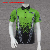 Racing pit crew shirts with full dye sublimation