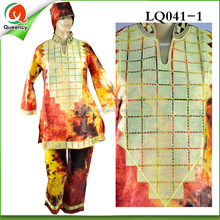 LQ041 cool luxury male already made clothing, 2016 new explosion pattern african dresses