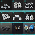 95%&98% Industrial ceramic zirconia/ alumina ceramic disc for tap cartridge/LLXTL