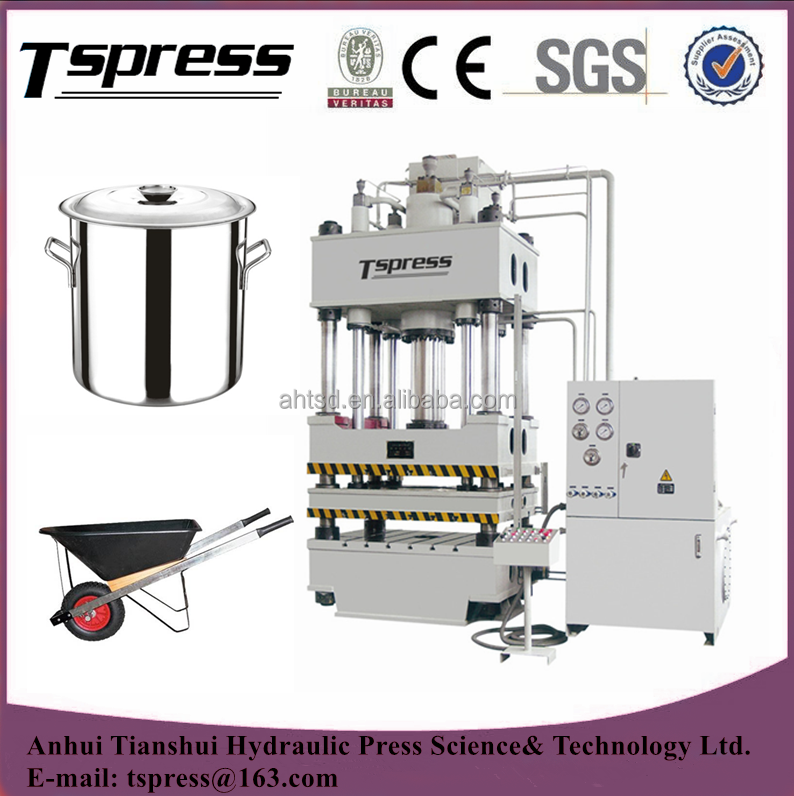 Y28 - 200/315T stainless steel hydraulic cold press machine