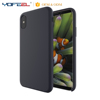 soft touch cell phone silicone case original back cover for iphone x with microfiber cushion