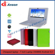 "7"" Android Mini Laptop Sales Promotion"
