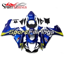 Motorcycle Full Fairing For Suzuki GSXR600-750 K11 Year 11-16 Blue Yellow Cowling Kits Year 2011 2012 2013 2014 2015 2016 ABS