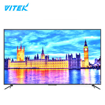 Vitek High Quality Big Screen 4K LCD, Ultra High Definition 2160P Resolution Televisor 4K, 43 49 55 60 65 inch LED 4K Monitor