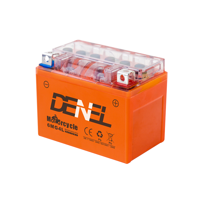 Fast Charging Motorcycle Batteries 12v4ah YTX4L-BS Motorcycle