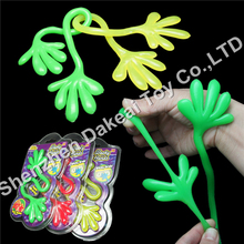 Rubber sticky hand Super Flexible Stretchy Sticky Grab toy