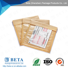 Self-seal Packaging Kraft Paper Bubble Envelope With Pouch