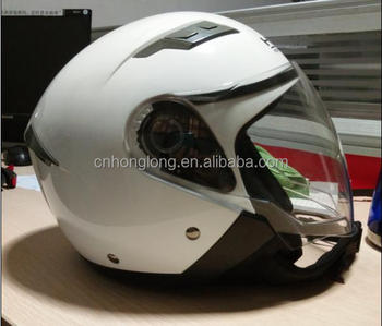 2017 New Model,HLS Brand,Open face helmet with Double Visor,Half face helmet with European Standard,good quality