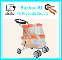 Heavy Duty Big Wheels Twin Pet Stroller