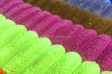 Free Sample wholesale Polyester and Acrylic 2.5/4.5/8 corduroy fabric for sofa