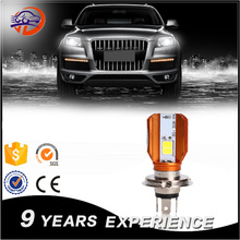Professional factory supplier new design all in one 12v 25W 6500K 4000 lumen car led lamp ,auto led bulb,h4 led headlight