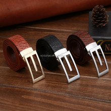 Hotselling Wholesale Pure Crocodile Mexican Genuine Leather Belts For Man