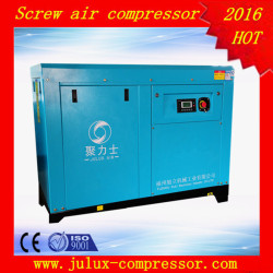75kw 100hp 14.1m3/min 7 bar AC power electric motor oil less factory supply rotary screw air compressor