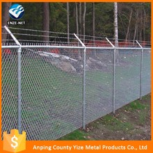 pvc vinyl coated 1 inch chain link fence panel price lowes for sale
