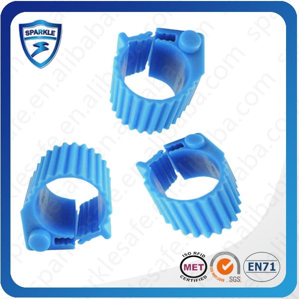Low frequency em4305 chip rfid pigeon ring band for 2014