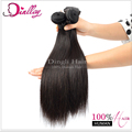 Super quality cheap human hair weaving straight remy indian hair