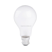 High Quality Frosted Incandescent Light Bulb A55 100W E27 B22 Base Incandescent Bulb Manufacturer