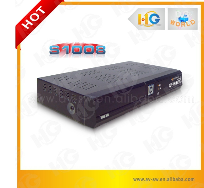 Factory original twin tuner azamerica s1008 satellite tv receiver azamerica s1005 satellite receiver no dish azamerica s1001