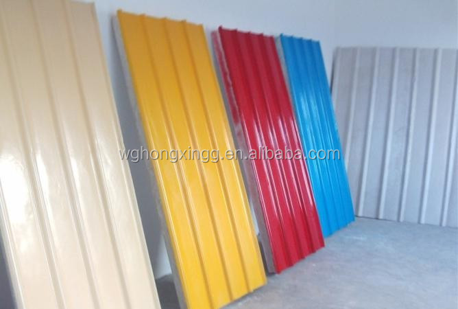 Galvanized Zinc Coating Corrugated Steel Sheet/ Galvanized Colour Roofing Tile