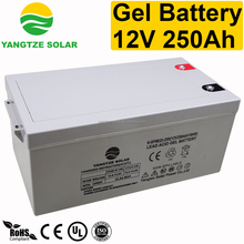 gel battery 12v 250ah solar dry cell battery