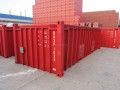 20ft half height container