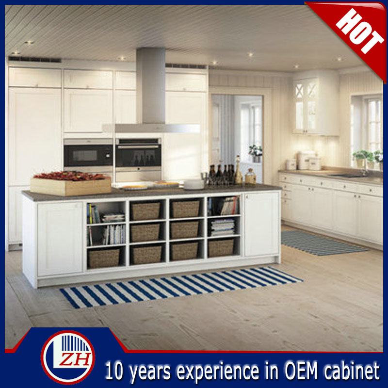 Factory Wholesale Pvc Affordable Modern Kitchen Cabinets